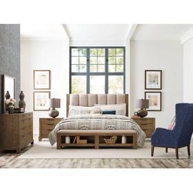 Meadowood Uph Queen Bed Complete