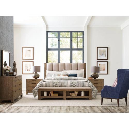 American Drew - Meadowood Uph Cal King Bed Complete