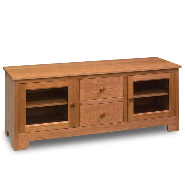 """See Details - Shaker TV Console, 62""""w x 18 """"d x 24 """"h"""
