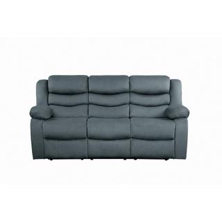 See Details - Discus Reclining Sofa Grey