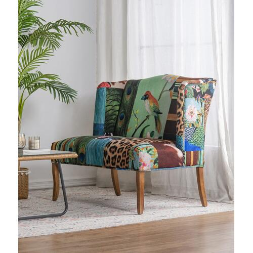 Vesta Bird Collage Settee
