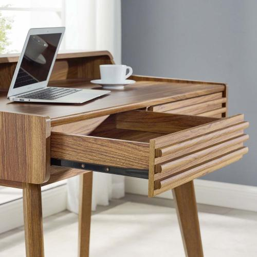 Render Writing Desk in Walnut