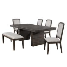 Product Image - Extendable Dining Table Set w/Bench - Cali Dining (6 Piece)