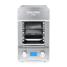 Kalorik Pro 1500 Electric Steakhouse Grill, Stainless Steel