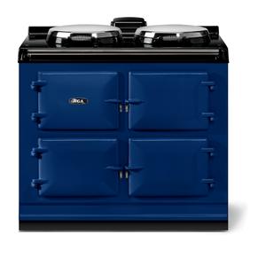 """AGAAGA classic 39"""" Dual Control Electric/Gas Model, Dark Blue"""