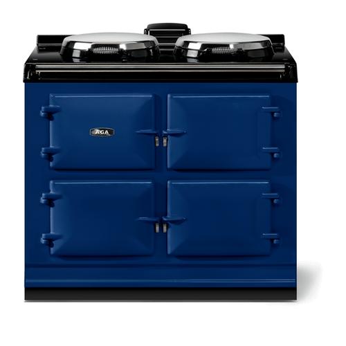 "AGA - AGA classic 39"" Dual Control Electric/Gas Model, Dark Blue"