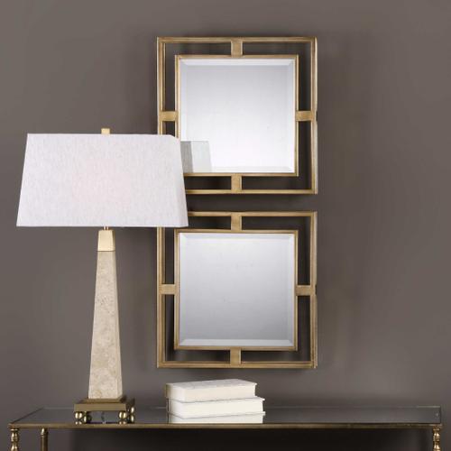 Uttermost - Allick Square Mirrors, S/2