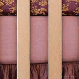 Amelia Cotton Crib Sheet