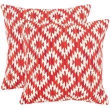 Midnight Desert Pillow - Red