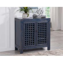 Rio Accent Cabinet, Navy