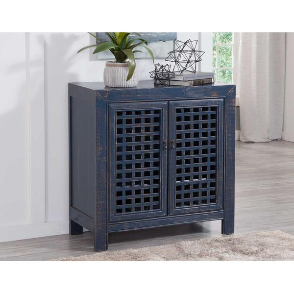 See Details - Rio Accent Cabinet, Navy