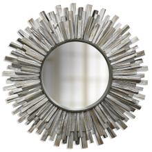 166842 NATURAL WOOD SUNBURST MIRROR
