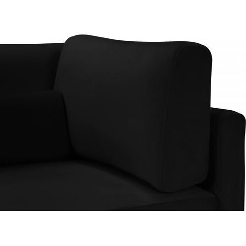"Julia Velvet Modular 108"" Sofa - 108.5"" W x 37.5"" D x 33"" H"