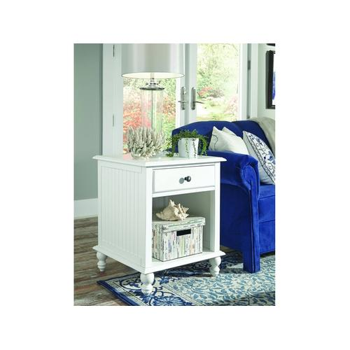 End Table in Beach White