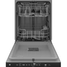 See Details - GE Top Control with Plastic Interior Dishwasher with Sanitize Cycle & Dry Boost