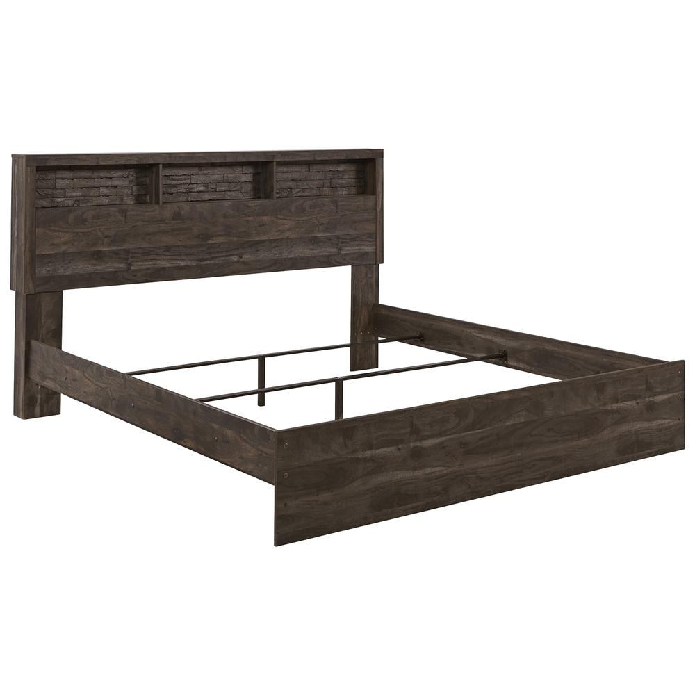 Vay Bay King Bookcase Panel Bed