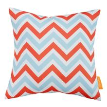 Modway Outdoor Patio Single Pillow in Zig-Zag