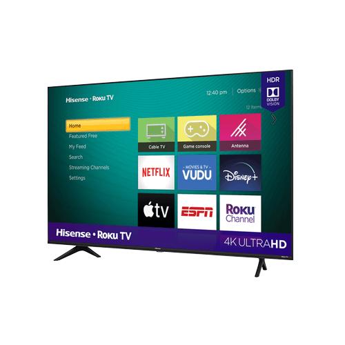 "65"" Class - R6E3 - 4K UHD Hisense Roku TV with HDR (2020)"