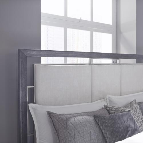 Pulaski Furniture - Echo Queen Headboard in Charcoal