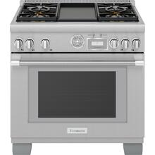 Gas Professional Range 36'' Pro Grand® Commercial Depth Stainless Steel PRG364WDG