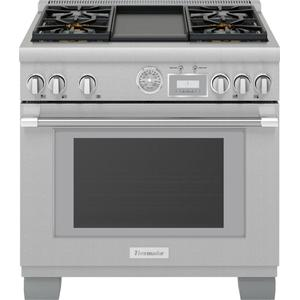 ThermadorDual Fuel Professional Range 36'' Pro Grand® Commercial Depth Stainless Steel PRD364WDGU