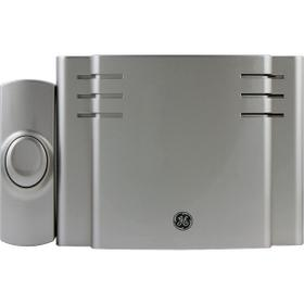 8-Chime Battery-Operated Door Chime with Wireless Push Button