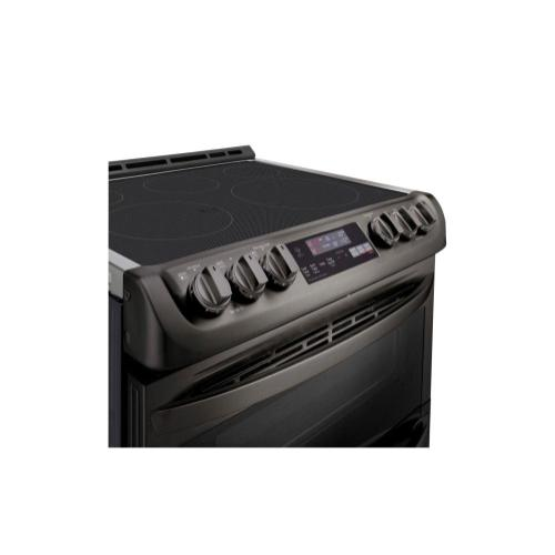 Product Image - 7.3 cu. ft. Smart wi-fi Enabled Electric Double Oven Slide-In Range with ProBake Convection® and EasyClean®