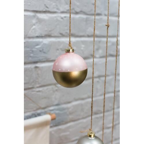 "3"" Light-Pink Stargaze Ornament"