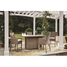 5-piece Outdoor Bar Table Set