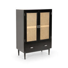 Crosley Bar Cabinet - Black