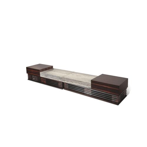 Sergio T V Cabinet (4 pc) Set