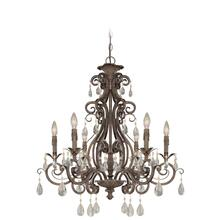 25626-FR - 6 Light Chandelier
