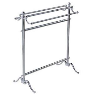 Essentials Traditional, Freestanding Double Towel Holder Product Image