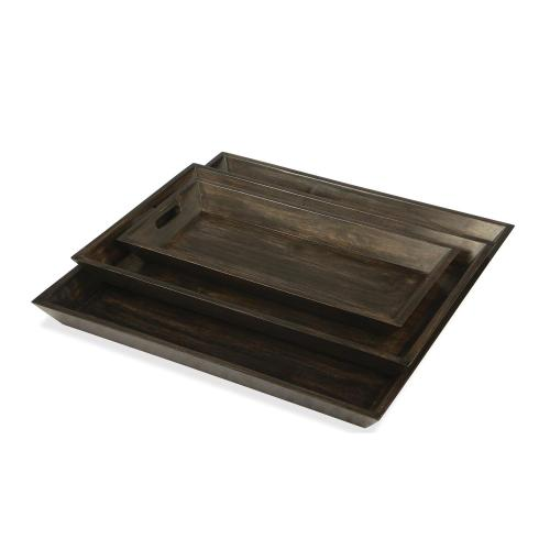 Small Tray - Deep Charcoal Finish