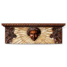 See Details - Wood carved mahogany decoration