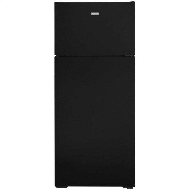 Hotpoint Hotpoint® 17.5 Cu. Ft. Recessed Handle Top-Freezer Refrigerator