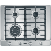 KM 2012 G - Gas cooktop with a mono wok burner for special applications.