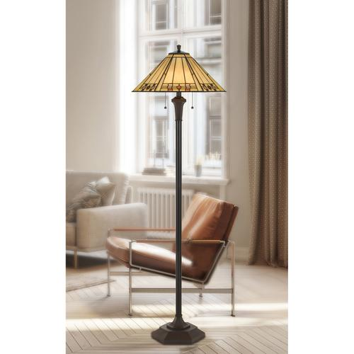 100W X 2 Tiffany Floor Lamp