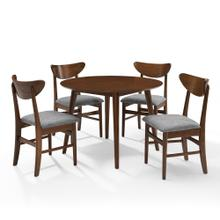 LANDON 5PC ROUND DINING SET