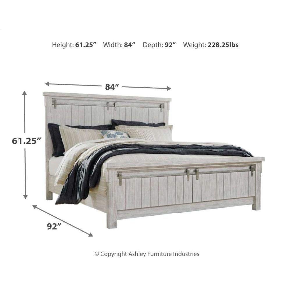 Product Image - Brashland California King Panel Bed
