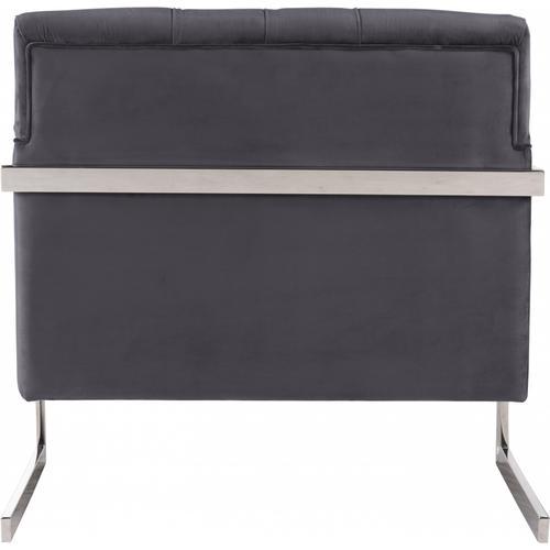 "Elegante Accent Velvet Chair - 26"" W x 30.5"" D x 33.5"" H"