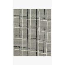 View Product - HE-11 Silver / Black Rug