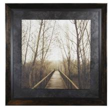 Textured Framed Print - Right Here