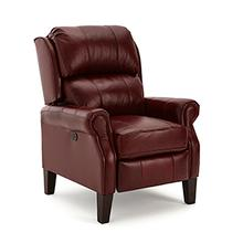 View Product - Joanna Leather High-Leg Recliner