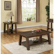 View Product - Windridge - Angled Leg Side Table - Sagamore Burnished Ash Finish