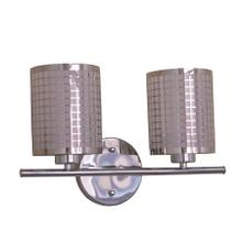 View Product - Summer Hill Collection Two Light Vanity In Chrome