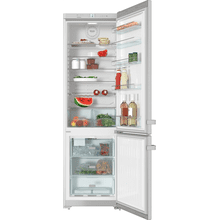 KFN 13923 DE edt/cs - Freestanding fridge-freezer with convenient interior cabinet and IceMaker for fresh ice cubes any time.