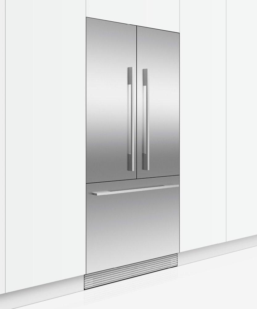 "Integrated French Door Refrigerator Freezer, 32"", Ice Photo #4"
