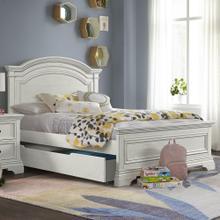 Product Image - Olivia Full Bed  Brushed White Brushed White