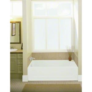 """All Pro®, Series 6104, 60"""" x 30"""" Bath - Right-hand Drain, 5-Pack - White Product Image"""
